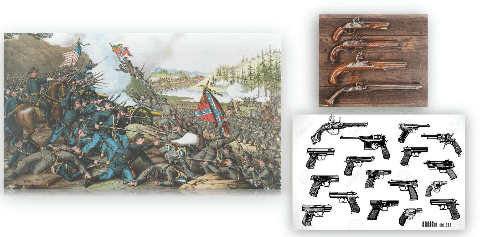 美国南北战争的枪支